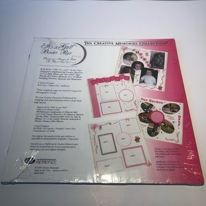 """Creative Memories """"It's a Girl"""" Border Pages"""